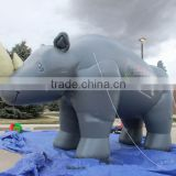 Newly lovely inflatable rhino for promotion in sell