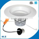 USA hot sale residential natural white 5000K ETL ES listed retrofit downlight