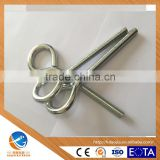 AOJIA FACTORY Wholesale carbon steel Eye Bolts, carbon steel Screw eyes, Eyebolts, Eyescrews