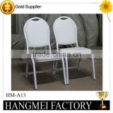 Banquet White Stacking Morocco's chair HM-A13