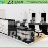 Fashion hair salon furniture used in mall center, Custom made hair kiosk                                                                         Quality Choice