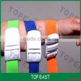 Multicolored Medical Supplies Strong Buckle Elastic Tourniquet 2.5*40cm OEM                                                                         Quality Choice