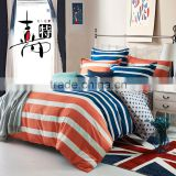 Hot Sale Reactive Printed Bedding Sets printed twill cotton home duvet cover And Pillow Covers