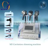 VY-M5 Ultrasonic Cavitation Fat Reduction Fast Slimming Machine Ultrasound Therapy For Weight Loss