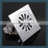 customized Hot sale smart stainless steel concrete floor drain