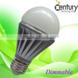High lumen 580LM 7W g60 led globe lights
