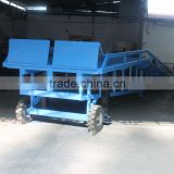 Mobile container loading dock leveler for sale