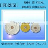 Cotton buffing wheel for machine