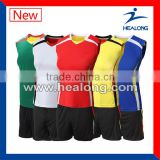 205 fashion design volleyball jersey set for women