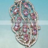 Fashion Jewelry, 925 Sterling Silver Jewelry Wholesale Crystal, Sterling Silver Charm Pendant PT90021