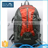 China manufacture wholesale outdoor hiking camping 8394 45L 2015 hiking backpack with low price