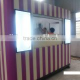 Good materials commercial bubble tea kiosk design ice cream kiosk for sale juice bar kiosk
