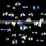 Crystal AB Rhinestone nail art rhinestones in Different Shapes, Crystal AB Nail Art Flatback Rhinestone from CRYSTAL ACE