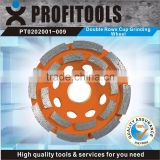 double rows cup diamond grinding wheel