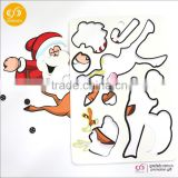 new products magnetic jigsaw puzzle 27*19cm fashion dress up game for girl                                                                                                         Supplier's Choice