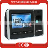 TCP/IP 4.3 Touch Screen biometric fingerprint access control terminal with free software management/RFID card /Backup Battery