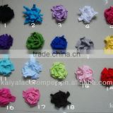 100% cotton baby foot flower