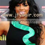 "Hot Beauty 20"" #1B Loose Wave, Natural Hairline, bellami hair extensions wig permanent human hair wigs"