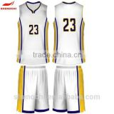 Quality 100% polyester sublimation basketball tank top wholesale basketball teams uniform