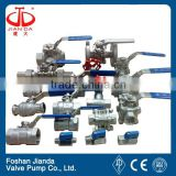 foshan shunde 304 316 ss stainless steel 1pc 2pc 3pc weld thread screw sanitary food grade ball valve