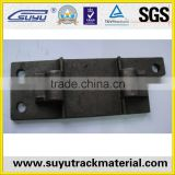 railroad tie plate for ASCE60 80A ASCE75 etc rails