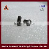 double head standard screws/stainless machine screw/screw barrel/cross recessed raised countersunk head screws