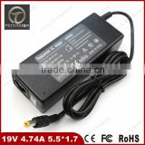 laptop AC power 19V 4.74A 90w 5.5*1.7 Notebook Charger For Acer 7560G 7741 7745G 7720 5750 5755G 5560G 5742G Adapter