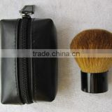 Professional Powder Kabuki Brush Makeup Brush free samples/Top quality goat hair custom kabuki cosmetic brush
