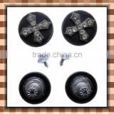 Custom high quality snap garment buttons ,fashion tack iron metal buttons