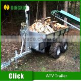 2016 new ATV Tow Behind Trailer for Timber
