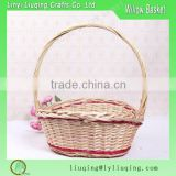Selection of the most portable and convenient cane production wicker fruit round fruit basket
