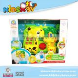 2015 hot toys baby sleep sound machine battery operated toy projection toy