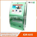 Wall Mounted Touch Screen Ticket Vending Machine