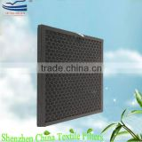 Active carbon air filter for air conditioner