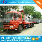 Dongfeng 4*2 Construction Engineering machine transport truck,machine carrying trucks