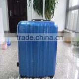 alibaba China new product 2015 ABS PC hardside rolling carry-on luggage