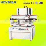 Plane vacuum table screen printer machine flat screen printing machine pvc sheet screen printer serigrafic printing machine