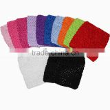 wholesale baby crochet tube top 6 inches tutu top