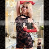 Temptlife Brand TL2213A Sexy lace Transparent Mature Women Sexy Girls Sexy Night Club sexy Lingerie body stocking