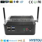 Intel Bay Trail J1800 2.41G Fanless Gaming ITX Computer Case Mini PC Windows DDR3 2G RAM 32G SSD WiFi Dual Lan HTPC Server HDMI