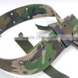 plastic buckle knitted military customized belt fashion accessories factory wholesale made in china
