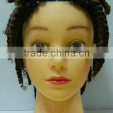 Afro Mannequin Head Training Head Manikin Head with hair                                                                         Quality Choice