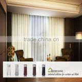 Bintronic Taiwan Manufacturer Motorized Curtain Poles Accessories Motorized Curtain Track Aluminium