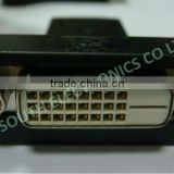 Wholesale price dp displayport port male to dvi+1 female adapter