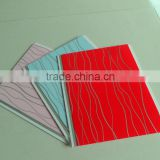 Decorative PVC Panel plastic material hot stamping new design interior decorative