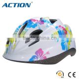 safety protective kid child helmet bicycle bike helmet skate helmet black EPS colorful shinning