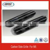 hot sale automobile body parts FOR BMW E60 5 series M5 2004-2009 carbon side grill