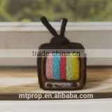 Merino Wool Felt Pure Manual Color TV Decorations Material Package