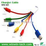 High speed promotion Fast Data Transmit Charging micro USB data cable for smartphones and tablets