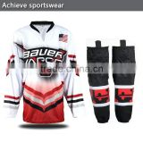 Custom Reversible Full Sublimation Inline Ice Hockey Goalie Jerseys